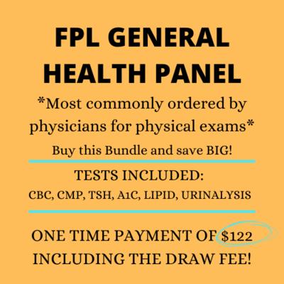 FPL GENERAL HEALTH PANEL