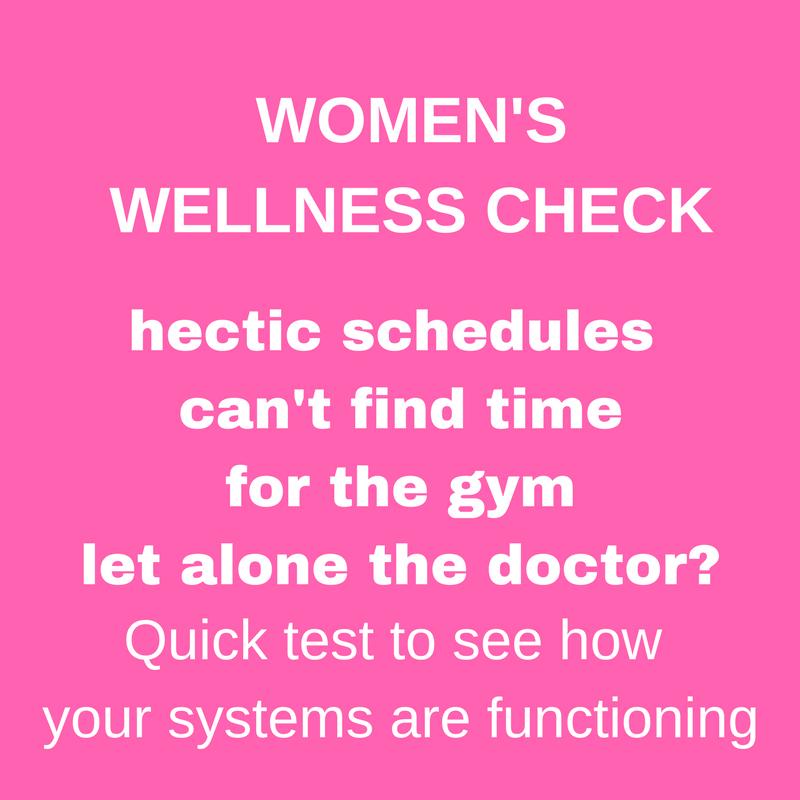 WOMEN'S WELLNESS CHECK