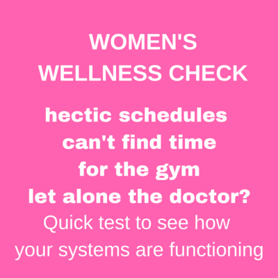 WOMEN'S WELLNESS CHECK