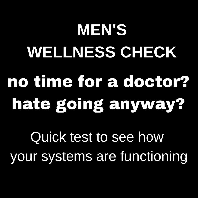 MEN'S WELLNESS CHECK