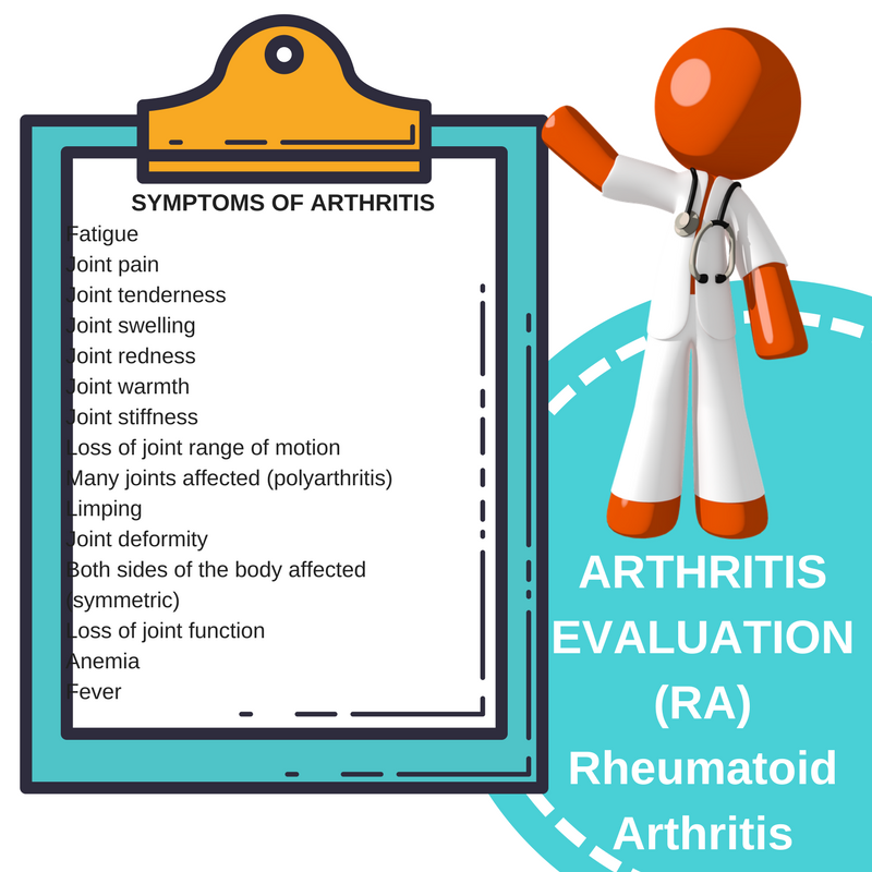 ARTHRITIS EVALUATION