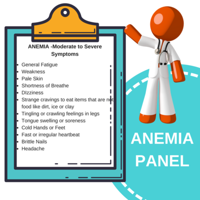 ANEMIA PANEL Iron Deficiency