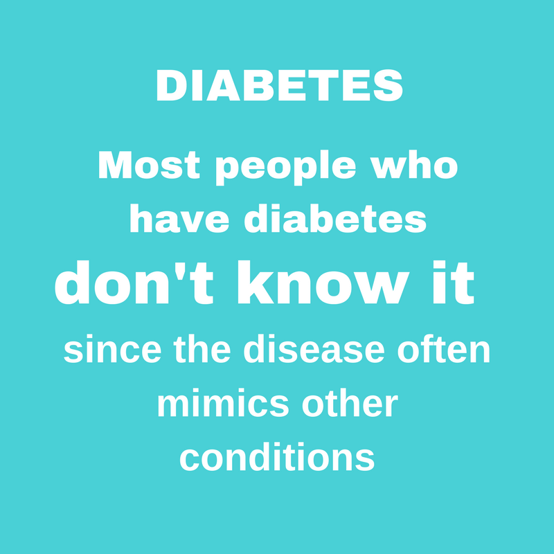 DIABETES SCREENING (Diabetic)