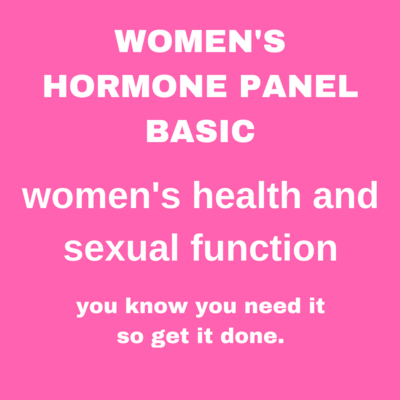 WOMEN'S HORMONE PANEL BASIC
