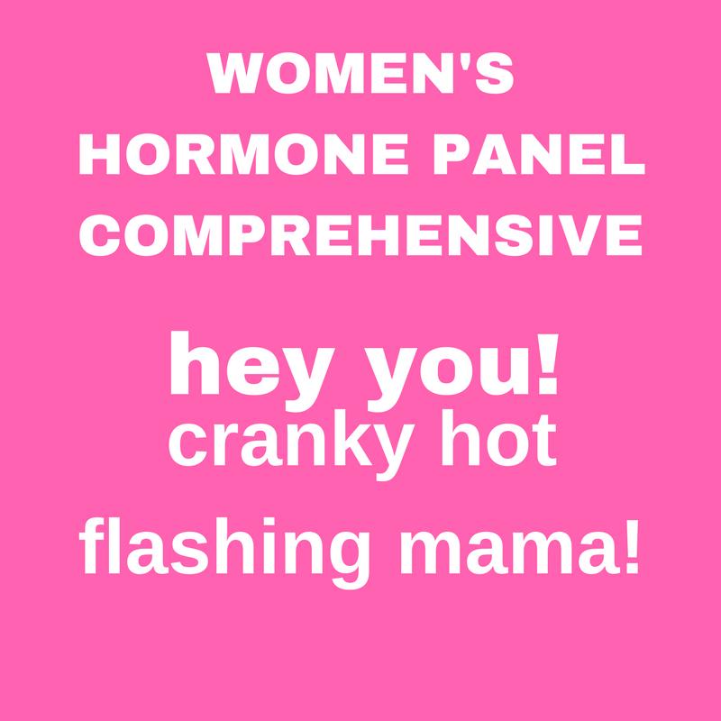 WOMEN'S HORMONE COMPREHENSIVE PANEL