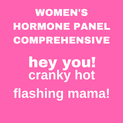 WOMEN'S HORMONE COMPREHENSIVE PANEL