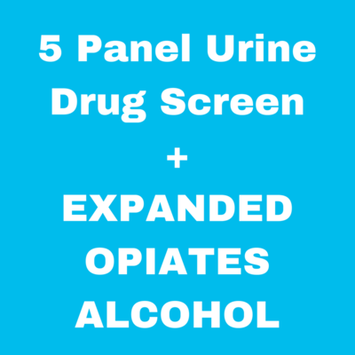 5 Panel Drug Screen with Expanded Opiates