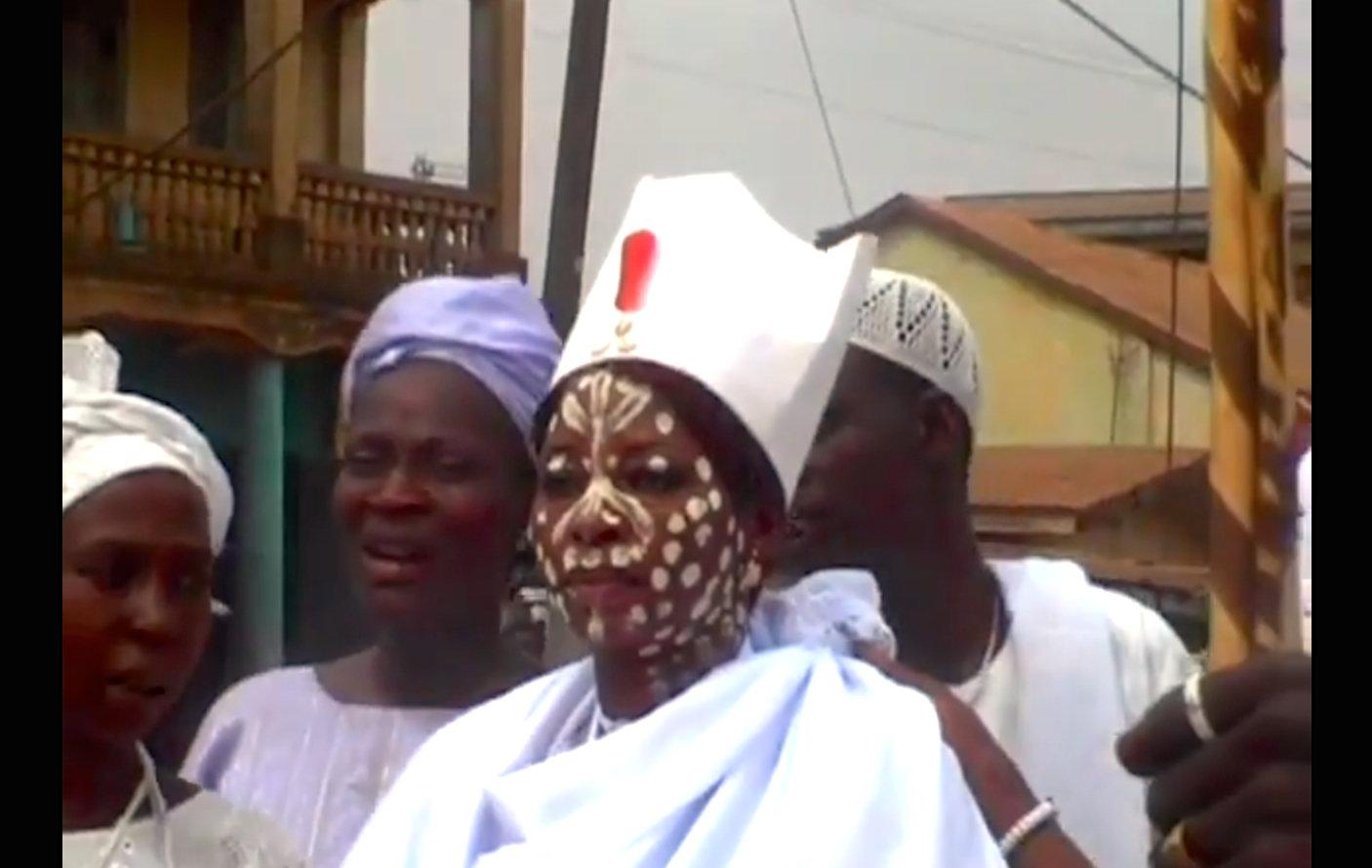 Obatala:  The White Clothed God
