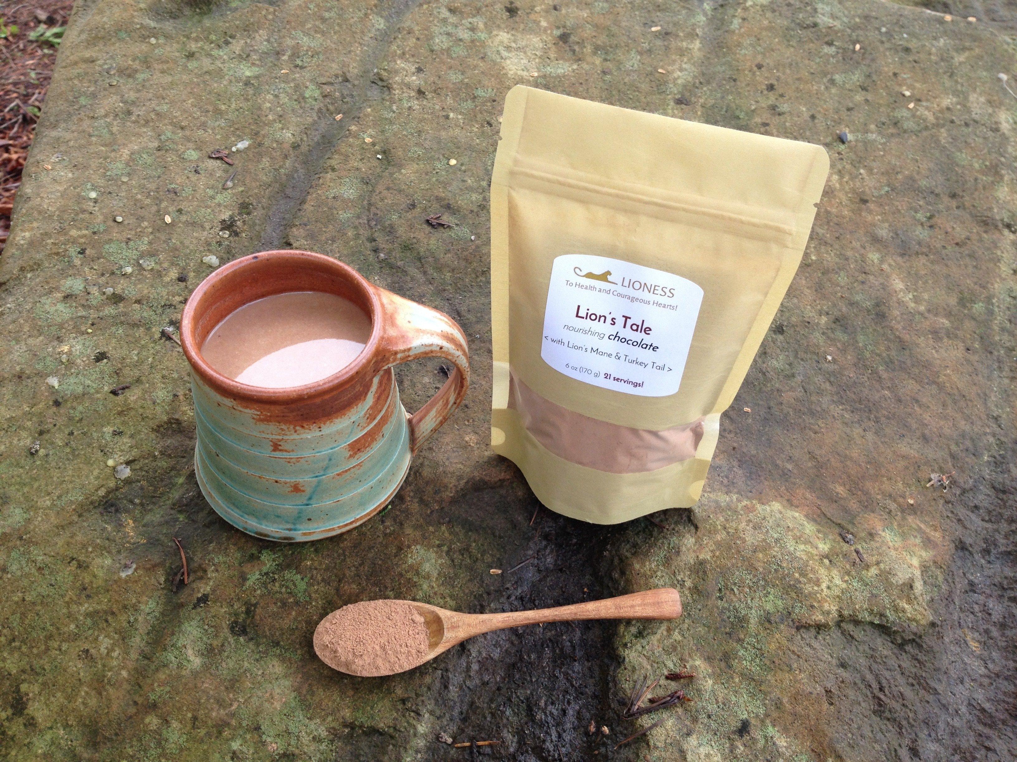 Lion's Tale™: nourishing cocoa mix LT-SM / LT-LG