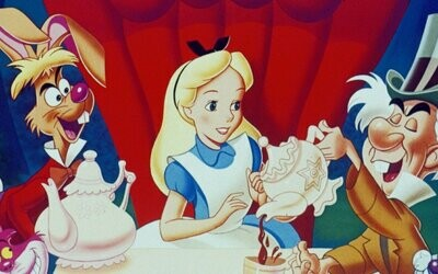 Alice in Wonderland B - Full Drill Diamond Painting - Specially ordered for you. Delivery is approximately 4 - 6 weeks.