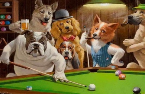 Animal Snooker - Full Drill Diamond Painting - Specially ordered for you. Delivery is approximately 4 - 6 weeks.