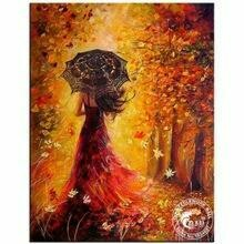 Autumn Gold Beauty - Full Drill Diamond Painting - Specially ordered for you. Delivery is approximately 4 - 6 weeks.