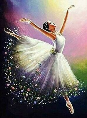 Ballerina 01- Full Drill Diamond Painting - Specially ordered for you. Delivery is approximately 4 - 6 weeks.