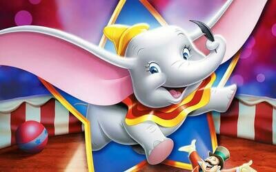 Cartoon Elephant  - Full Drill Diamond Painting - Specially ordered for you. Delivery is approximately 4 - 6 weeks.