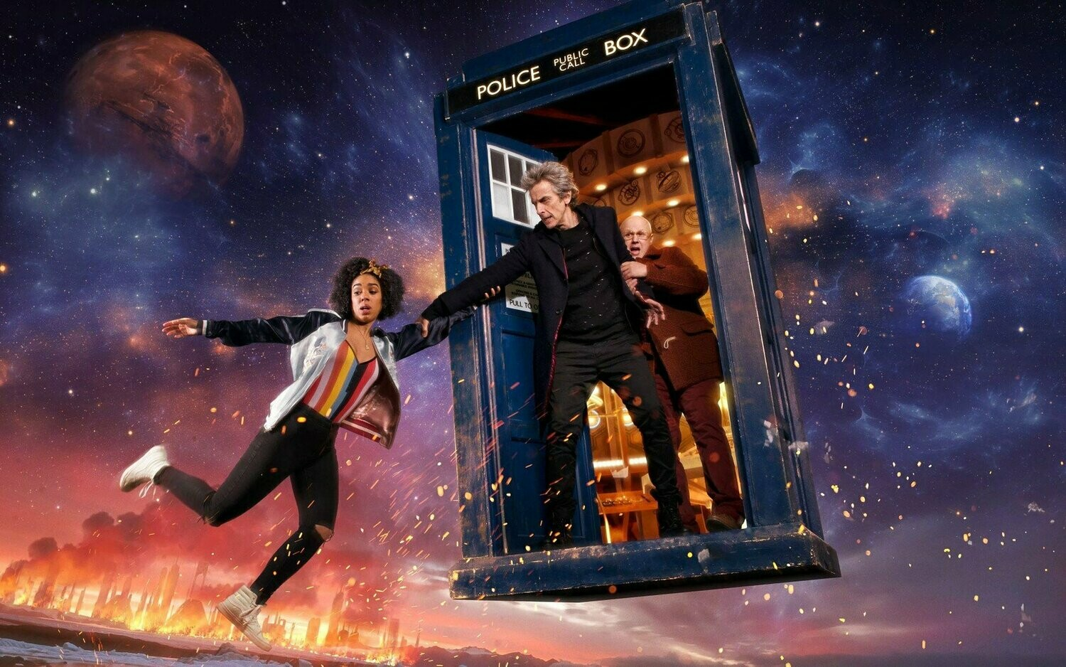 Doctor Who 2 - Full Drill Diamond Painting - Specially ordered for you. Delivery is approximately 4 - 6 weeks.