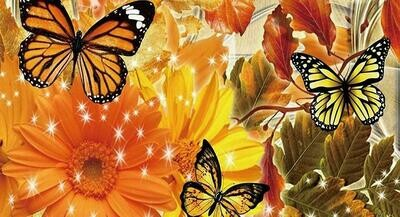 Autumn Butterflies - Full Drill Diamond Painting - Specially ordered for you. Delivery is approximately 4 - 6 weeks.