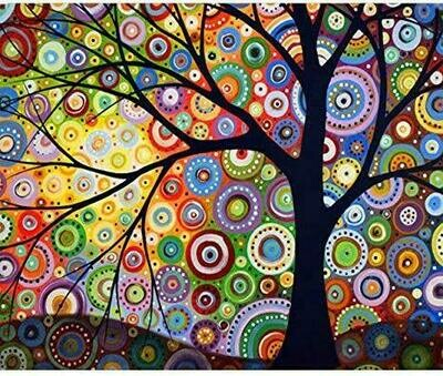 Circle Tree - Full Drill Diamond Painting - Specially ordered for you. Delivery is approximately 4 - 6 weeks.