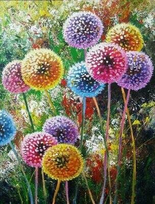 Dandelions - Full Drill Diamond Painting - Specially ordered for you. Delivery is approximately 4 - 6 weeks.