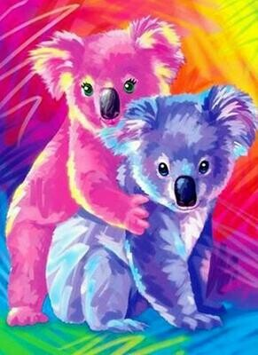 Cute Koalas - Full Drill Diamond Painting - Specially ordered for you. Delivery is approximately 4 - 6 weeks.