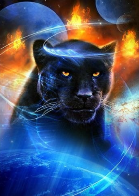 Black Panther - Full Drill Diamond Painting - Specially ordered for you. Delivery is approximately 4 - 6 weeks.