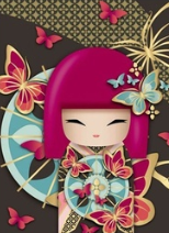 China Doll 04 - Full Drill Diamond Painting - Specially ordered for you. Delivery is approximately 4 - 6 weeks.