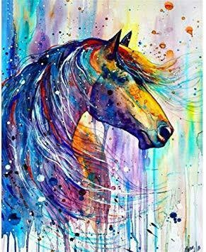 Colourful Animals 6- Full Drill Diamond Painting - Specially ordered for you. Delivery is approximately 4 - 6 weeks.