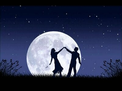 Dancing Under The Moon - Full Drill Diamond Painting - Specially ordered for you. Delivery is approximately 4 - 6 weeks.