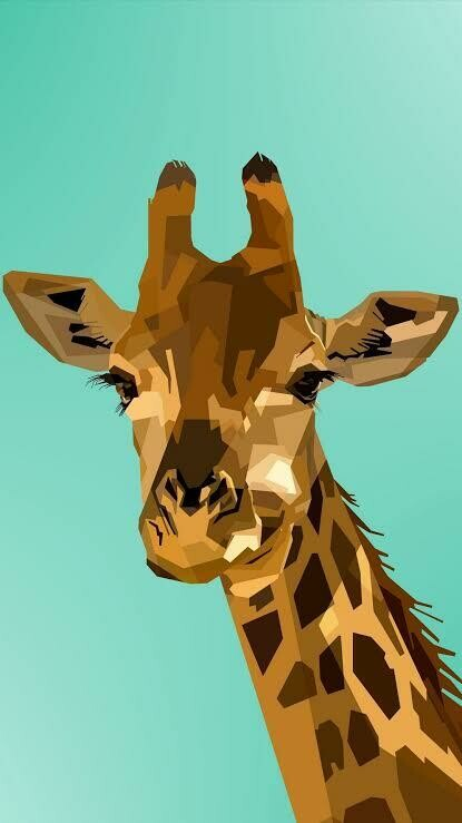 Giraffe 03- Full Drill Diamond Painting - Specially ordered for you. Delivery is approximately 4 - 6 weeks.