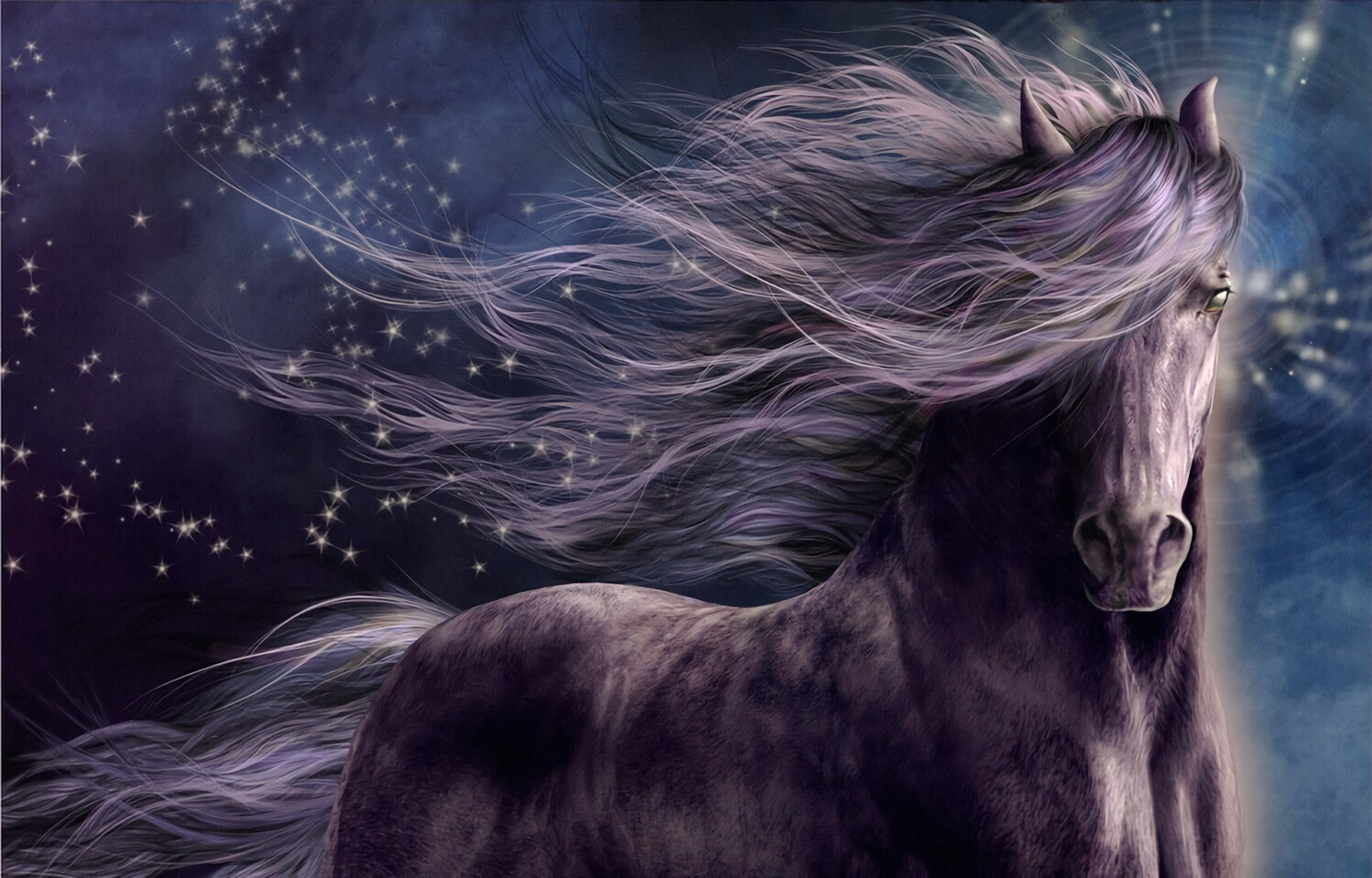 Horse 2 - Full Drill Diamond Painting - Specially ordered for you. Delivery is approximately 4 - 6 weeks.