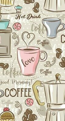 Love Coffee - Full Drill Diamond Painting - Specially ordered for you. Delivery is approximately 4 - 6 weeks.