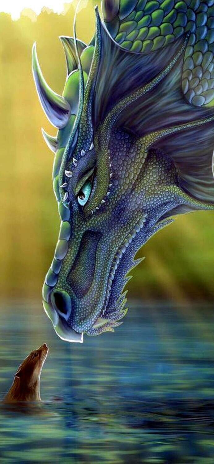 Dragon 01 - Full Drill Diamond Painting - Specially ordered for you. Delivery is approximately 4 - 6 weeks.