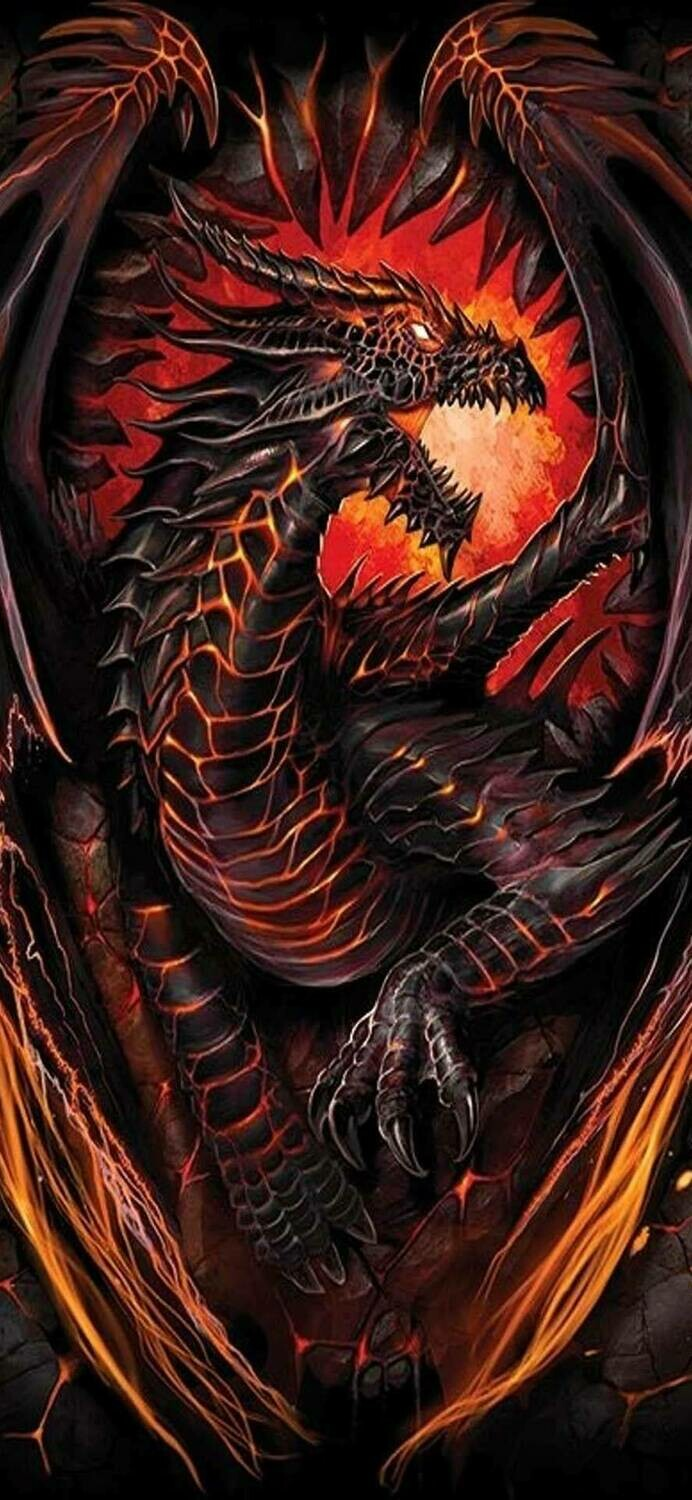 Dragon 05 - Full Drill Diamond Painting - Specially ordered for you. Delivery is approximately 4 - 6 weeks.