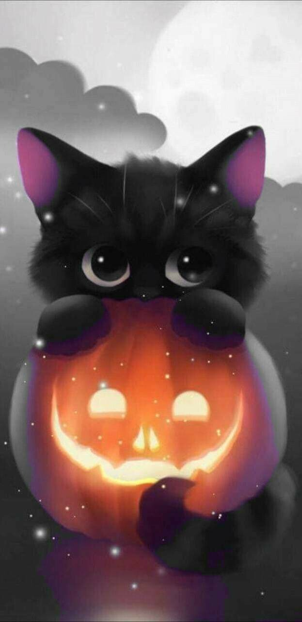 Halloween 03 - Full Drill Diamond Painting - Specially ordered for you. Delivery is approximately 4 - 6 weeks.