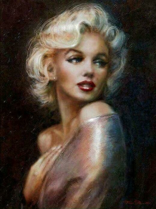 Famous Lady - Full Drill Diamond Painting - Specially ordered for you. Delivery is approximately 4 - 6 weeks.