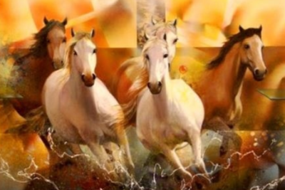 Horses B - Full Drill Diamond Painting - Specially ordered for you. Delivery is approximately 4 - 6 weeks.