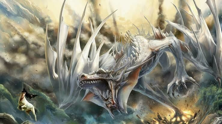 Dragon Battles 02 - Full Drill Diamond Painting - Specially ordered for you. Delivery is approximately 4 - 6 weeks.