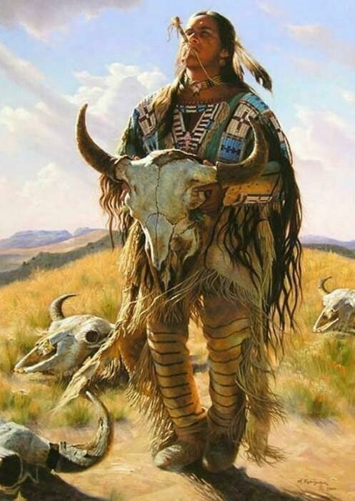 Native American 07 - Full Drill Diamond Painting - Specially ordered for you. Delivery is approximately 4 - 6 weeks.