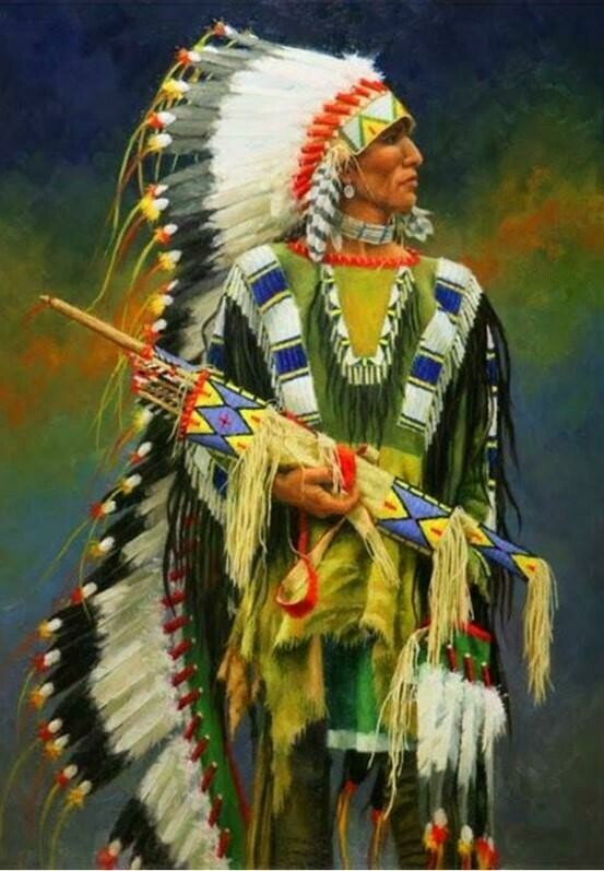 Native American 08 - Full Drill Diamond Painting - Specially ordered for you. Delivery is approximately 4 - 6 weeks.