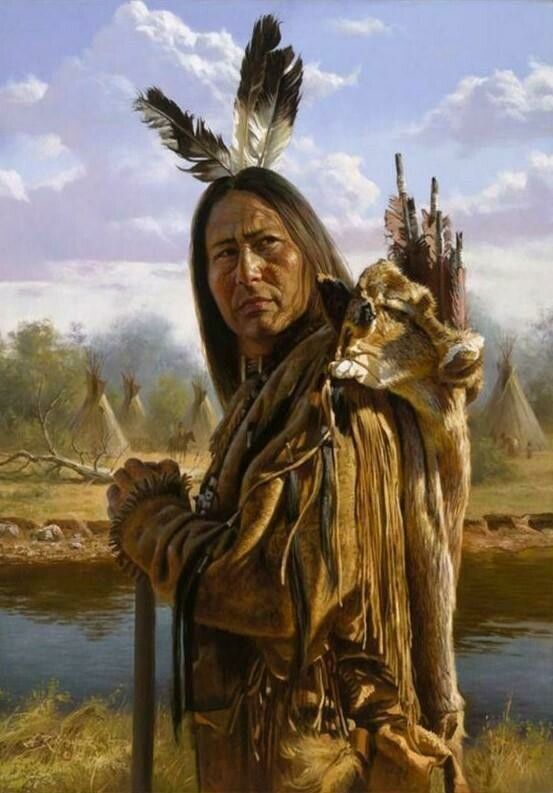 Native American 13 - Full Drill Diamond Painting - Specially ordered for you. Delivery is approximately 4 - 6 weeks.