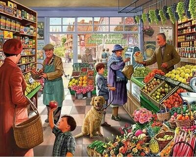 Fruit Shop - Full Drill Diamond Painting - Specially ordered for you. Delivery is approximately 4 - 6 weeks.