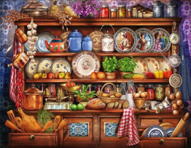 Kitchen Clutter - Full Drill Diamond Painting - Specially ordered for you. Delivery is approximately 4 - 6 weeks.