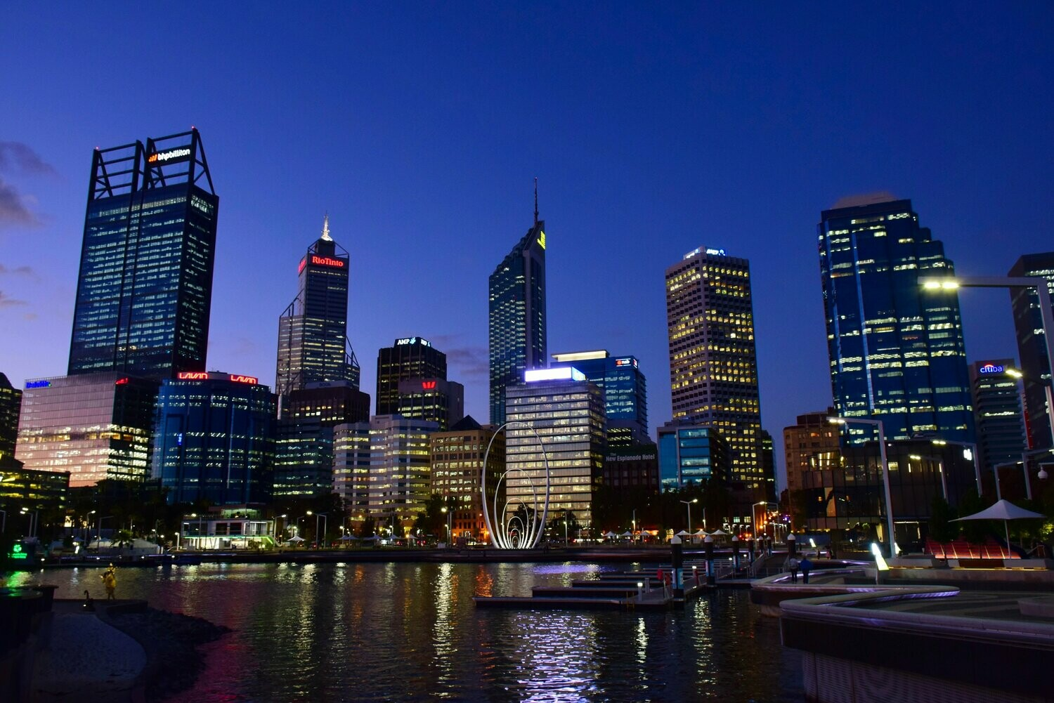 Perth City Night - Full Drill Diamond Painting - Specially ordered for you. Delivery is approximately 4 - 6 weeks.