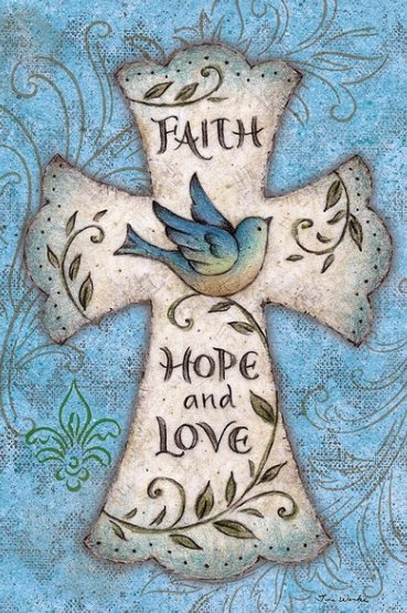 Faith Hope And Love - Full Drill Diamond Painting - Specially ordered for you. Delivery is approximately 4 - 6 weeks.