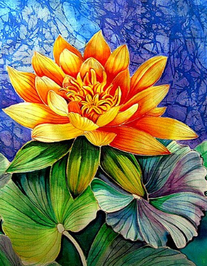 Flowers 12 - Full Drill Diamond Painting - Specially ordered for you. Delivery is approximately 4 - 6 weeks.