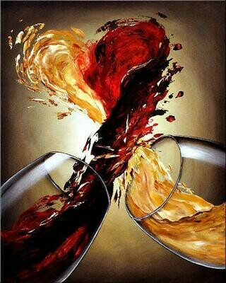 Love My Wine - Full Drill Diamond Painting - Specially ordered for you. Delivery is approximately 4 - 6 weeks.