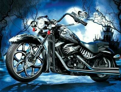 Motorcycle 03 - Full Drill Diamond Painting - Specially ordered for you. Delivery is approximately 4 - 6 weeks.