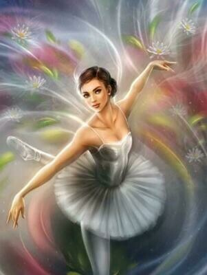 Pretty Ballerina - Full Drill Diamond Painting - Specially ordered for you. Delivery is approximately 4 - 6 weeks.
