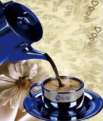 Pouring Coffee - Full Drill Diamond Painting - Specially ordered for you. Delivery is approximately 4 - 6 weeks.