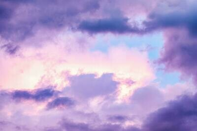 Purple Clouds Background - Full Drill Diamond Painting - Specially ordered for you. Delivery is approximately 4 - 6 weeks.