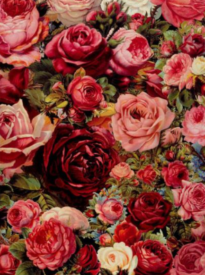 Roses 10 - Full Drill Diamond Painting - Specially ordered for you. Delivery is approximately 4 - 6 weeks.